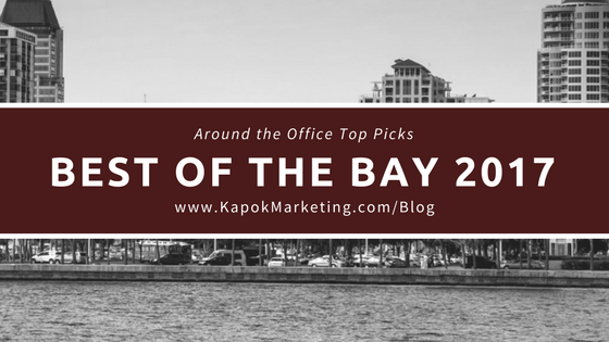 Best of the Bay 2017 Around the Office Top Picks