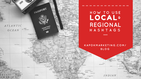 How To Use Local and Regional Hashtags